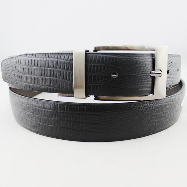Lizard Reversible Leather Belt 30-13239